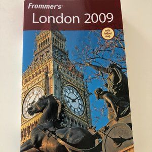 Frommer's London 2009 Travel Guide w/ Fold-out map